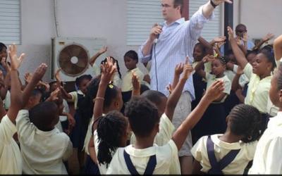 BugOut visits Bregado Flax Schools